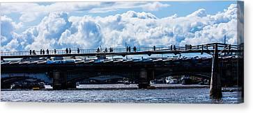 London Skyline Canvas Print by Dawn OConnor