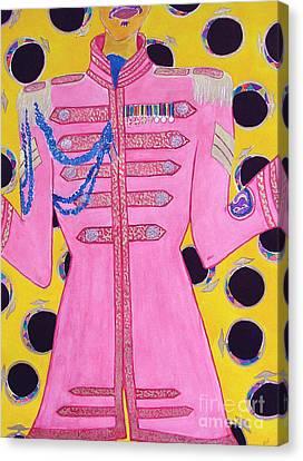 Lonely Hearts Club Member Ringo Canvas Print by Barbara Nolan
