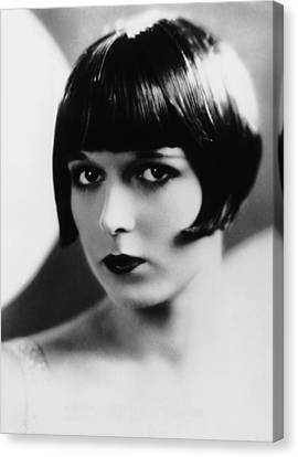 Louise Brooks, Ca. Late 1920s Canvas Print