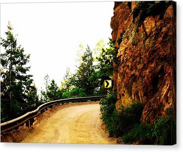 Canvas Print featuring the photograph Lower Gold Camp Road  by Clarice  Lakota