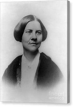 Lucy Stone, American Abolitionist Canvas Print by Photo Researchers