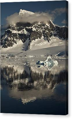 Luigi Peak Wiencke Island Antarctic Canvas Print by Colin Monteath