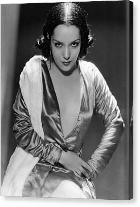 Lupe Velez, Ca. Early 1930s Canvas Print by Everett