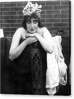 Mabel Normand, Ca. 1910s Canvas Print by Everett