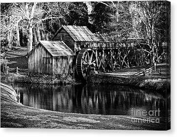 Mabry Mill Canvas Print by Carrie Cranwill