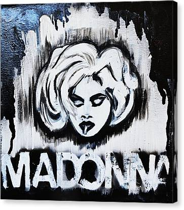 Madonna Canvas Print by Cat Jackson
