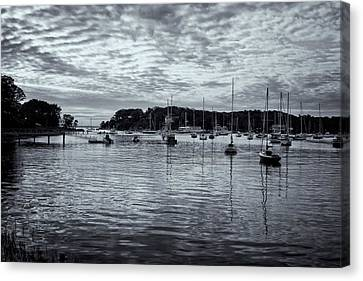 Canvas Print featuring the photograph Manchester Cove by Tom Singleton