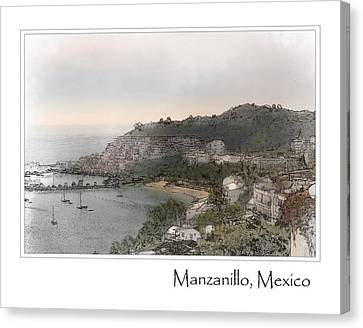 Manzanillo Mexico Canvas Print