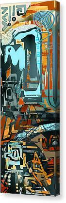 Maoi Canvas Print by Anne Weirich