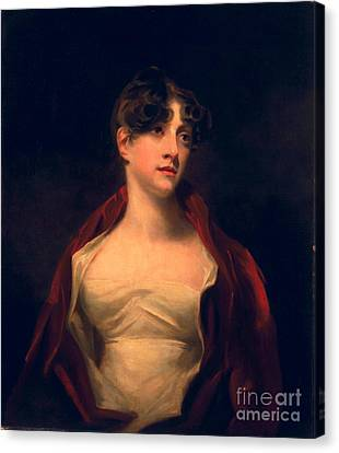 Margaret Moncrieff Canvas Print by Sir Henry Raeburn