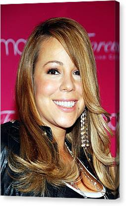 Mariah Carey In Attendance For Launch Canvas Print by Everett