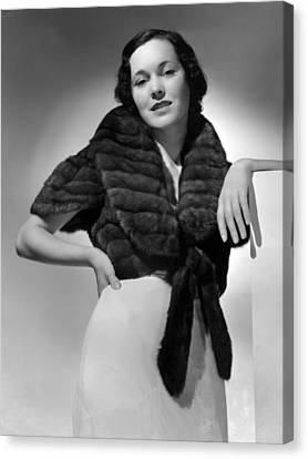 Maureen Osullivan, Mgm Portrait Canvas Print