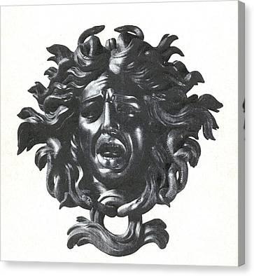 Medusa Head Canvas Print by Photo Researchers