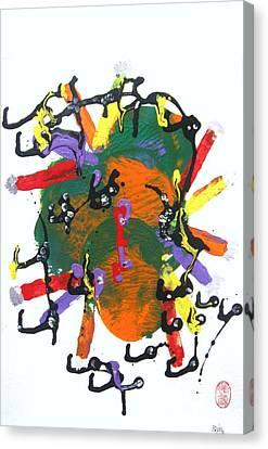 Medusa  Nebula Canvas Print by Roberto Prusso