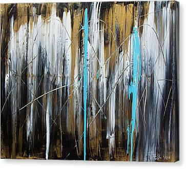 Meltdown Canvas Print by Terrance Prysiazniuk