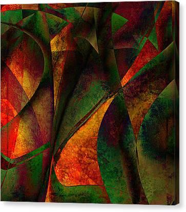 Merging Canvas Print by Amanda Moore