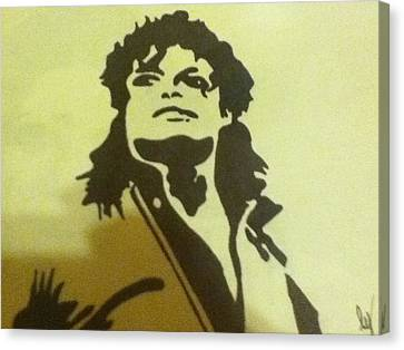 Michael Jackson Canvas Print by Damian Howell
