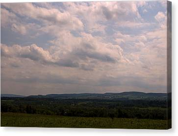 Canvas Print featuring the photograph Mohawk Valley by Steven Richman