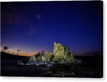 Mono Lake Big Dipper Sky Canvas Print by La Rae  Roberts