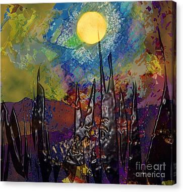 Moonlight Magic Canvas Print