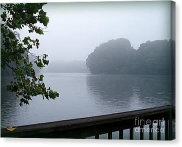 Morning Mist Canvas Print by Gladys Steele