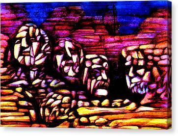 Mount Rushmore Canvas Print by Giuliano Cavallo