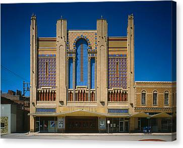Movie Theaters, Missouri Theater Canvas Print by Everett