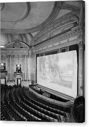Movie Theaters, The Al Ringling Canvas Print by Everett