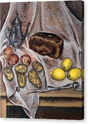 Naturemorte Canvas Print by Vladimir Kezerashvili