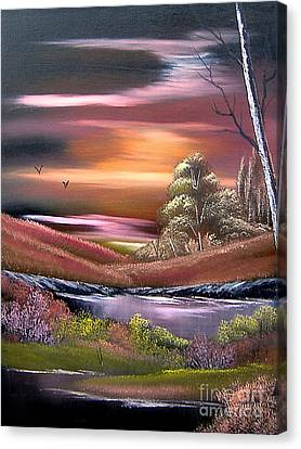 Neverland Canvas Print by Cynthia Adams