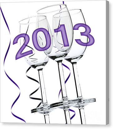 Festivities Canvas Print - New Year 2013 by Blink Images