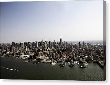 Canvas Print featuring the photograph New York City by Paul Plaine