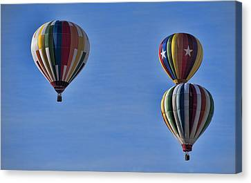 New York State Festival Of Balloons Canvas Print by Joe Granita