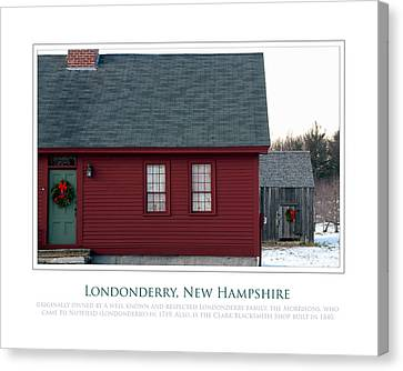 Nh Old Homes Canvas Print by Jim McDonald Photography