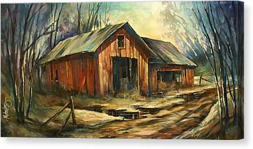 'north Country' Canvas Print by Michael Lang
