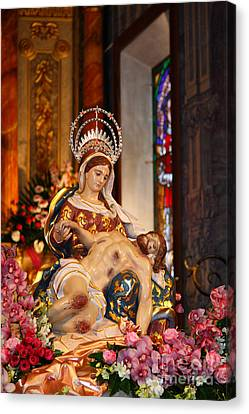 Nossa Senhora Da Piedade Canvas Print by Gaspar Avila