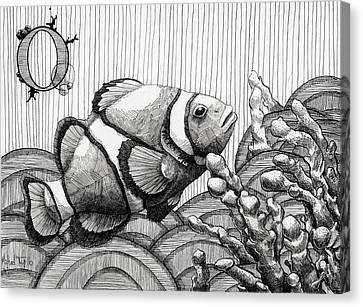 Michael Canvas Print - Ocellaris by Michael Trujillo