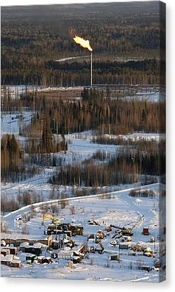 Oil Field Canvas Print by Ria Novosti