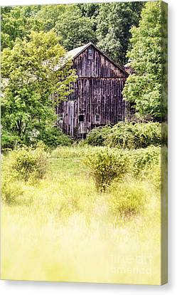 Old Barn Canvas Print by HD Connelly
