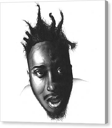Old Dirty Bastard Canvas Print by Lee Appleby