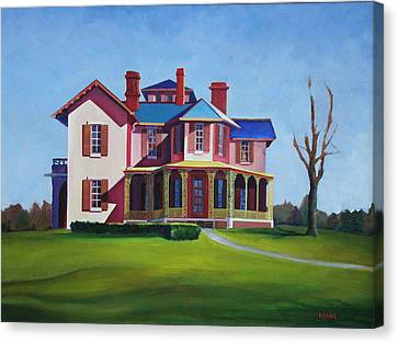Old House Canvas Print by Robert Henne