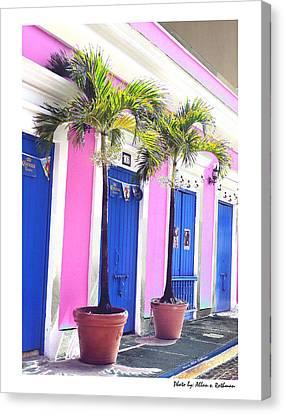 Old San Juan  16 Canvas Print