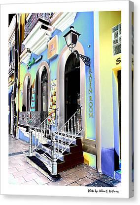 Old San Juan 17 Canvas Print
