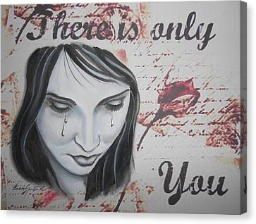 Only You Canvas Print by Barbie Guitard