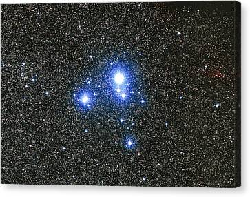 Optical Image Of The Star Cluster Ic 2391 In Vela Canvas Print