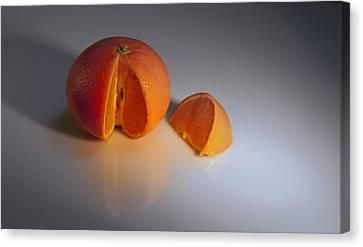 Orange Canvas Print by Svetlana Sewell