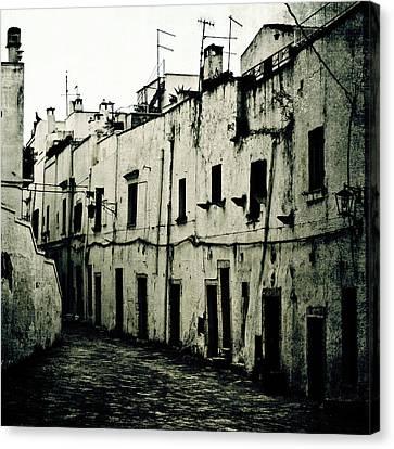 Ostuni - Apulia Canvas Print by Joana Kruse