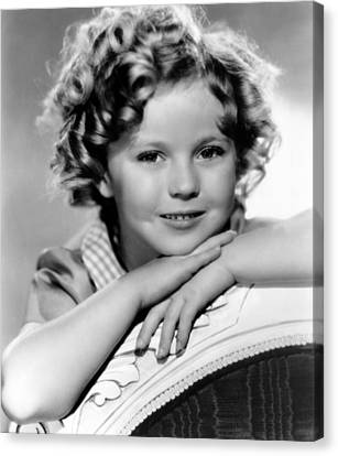 Our Little Girl, Shirley Temple, 1935 Canvas Print by Everett