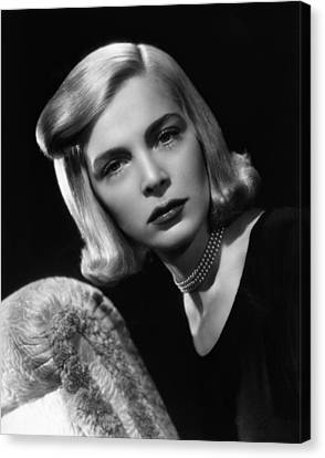 Paid In Full, Lizabeth Scott, 1950 Canvas Print by Everett