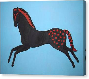 Painted Pony Canvas Print